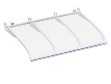 Shelter Segeln Stil Angriff Deckenlichtdurchlässig Aluminium AMA