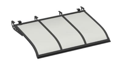 Shelter Segeln Stil Angriff Decken Grau Opal Aluminium AMA