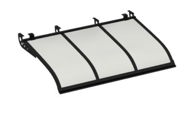 Shelter Segeln Stil Angriff Decken Black Opal Aluminium AMA