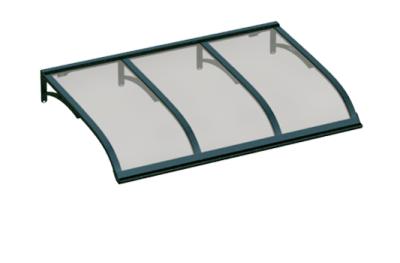 Shelter Vela Grün Grau Aluminium AMA Sonnenschutz