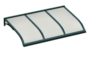 Shelter Vela Grün Opal Aluminium AMA Sonnenschutz