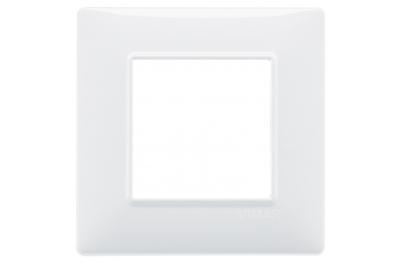 Abdeckrahmen 2 Module Plana Vimar 14642 80x80x9 mm Farbauswahl