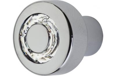 Möbelknopf Linea Calì Cosmic Crystal CR mit Swarowski® Jet