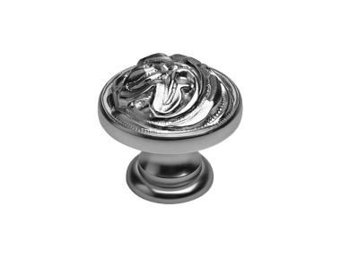 Knopf Classic für Mobile Line Cali Vintage-PB mit Antik Silber-Finish