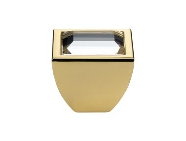 Mobil Linea Cali Knopf Kristall Elios Kristall PB Swarowski® mit reinem Gold