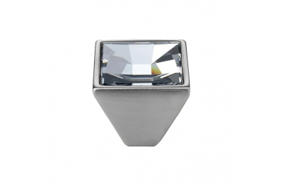 Mobil Linea Cali Spiegel PB-Regler mit Kristallen Swarowski® Satin-Chrom