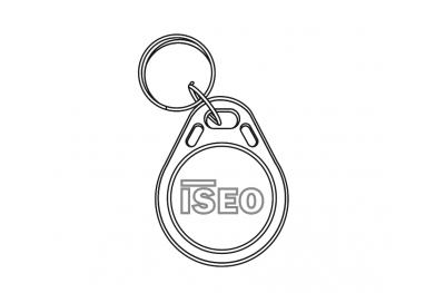 Keychain User Keyfob Trasponder Mifare für elektronische Zylinder Iseo Libra