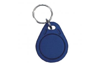 PPB Proximity Tag in blauem Kunststoff in 125Khz CDVI Keychain Format