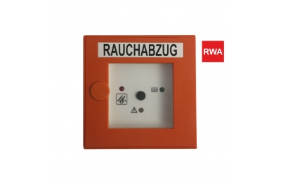 Alarm Button RT2 RWA Notfallsteuerung für RWA Steuergeräte für Rauch- und Wärmeabführsysteme Topp