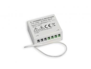 Zwelkanal-Funkempfänger für den Versenkten Einbau RR2-M Nekos