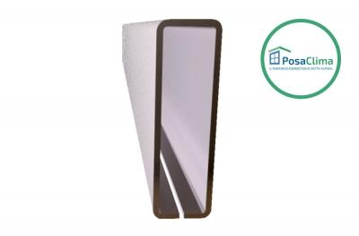 Stahlverstärkung für Klima Pro PosaClima 12x40 mm Gegenrahmen