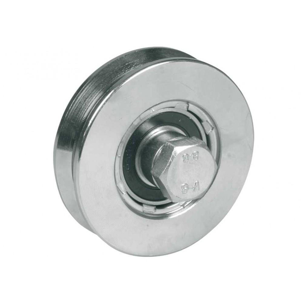 Rad für Schiebetore 1 Lagerkugel Throat V Verschiedene Durchmesser IBFM