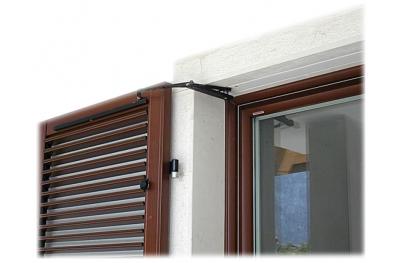 S TEL Doppeltür 80-115cm 230VAC Chiaroscuro am Arm Fensterläden Schwingen