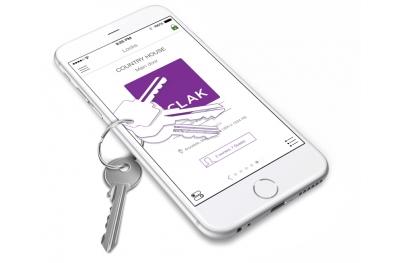 Sclak Access Control System und Anwesenheits Öffnen Sie das Schloss mit Smartphone