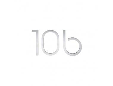 Schilder Zahlen und Buchstaben PBA Edelstahl AISI 316L