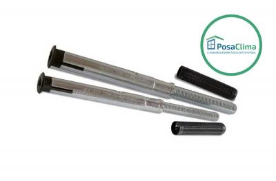 Dübel zur Befestigung der Scharniere des Thermoflix PosaClima-Verschlusses