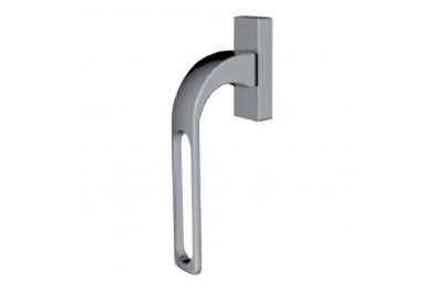 SUN 2 Qbe Line Griff DK Hammer für moderne Fenster mit Loch Design Studio Mariani Becchetti