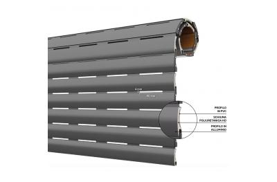 AriaLuceTherm PVC- und Aluminium-isolierter Verschlussraum für Luft und Licht