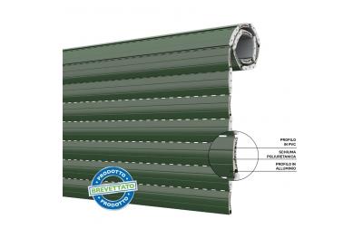 Duero 55 Shutter Energiesparender Rollladen aus PVC und Aluminium