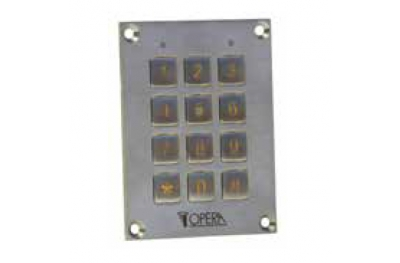 Tastatur Antivandalic-Code Access Control 55612SS Series Access Opera