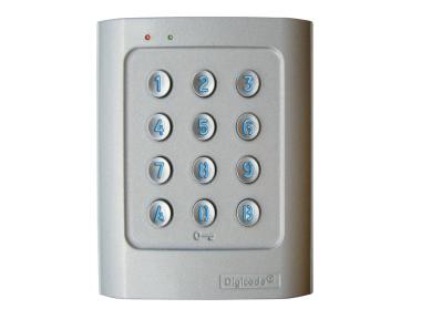 Autonome Tastatur DGA Retro-Lit-Aluminiumlegierung DIGICODE 2 Relay Zugangskontrolle CDVI