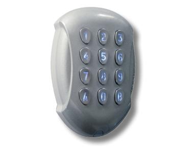 Radiofrequenz Tastatur GALEOR Retro-Lit Anti-Vandal DIGICODE Access Control CDVI