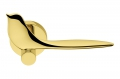 Twitty Oroplus Türgriff auf vogelförmiger Rosette von Colombo Design