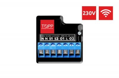 ShutterBox 230V Topp WiFi-Gerät zur Steuerung des Fensterantriebs