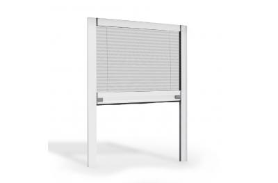 Vertikales Plissee Moskitonetz für Fenster Reibungsöffnung Circe