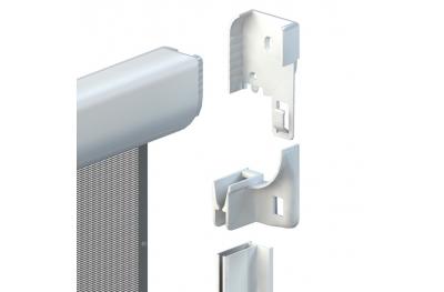 Moskitonetz Fast 50 Vertikal-Frühling plus cassonetto 50mm Zanzar Sistem