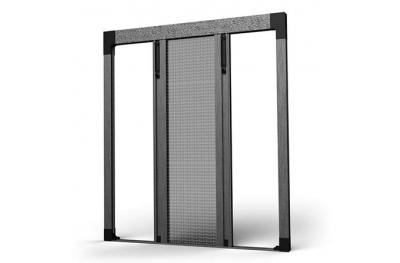 Bilaterales Plissee Moskitonetz 04 für Balkone und Fenstertüren SharkNet