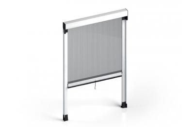 Moskitonetz Quadra Vertikal-Frühling plus cassonetto 50mm Zanzar Sistem
