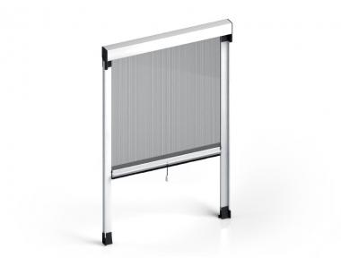 Moskitonetz Quadra Vertikale Standard-Feder cassonetto 50mm Zanzar Sistem