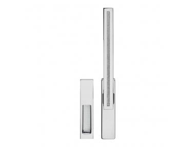Twist Zincral Griff Fenster Martellina DK mit Intrusion unsichtbare Linie Cali Design System